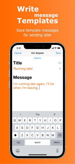 Write Message Templates