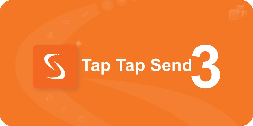 Tap Tap Send 3 Headline Banner