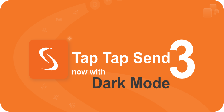 TapTapSend 3 with Dark Mode