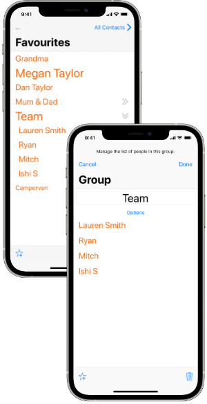 Group Screenshots